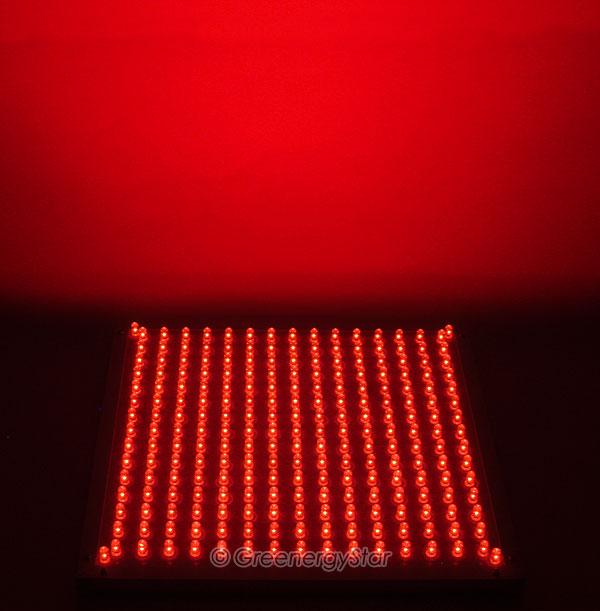 16w 229pcs Red Led Grow Light Panel 100v 240v 50 60hz Ac